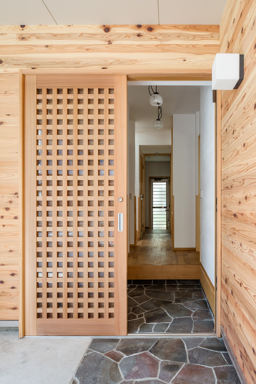 製作玄関ドアの建築事例写真