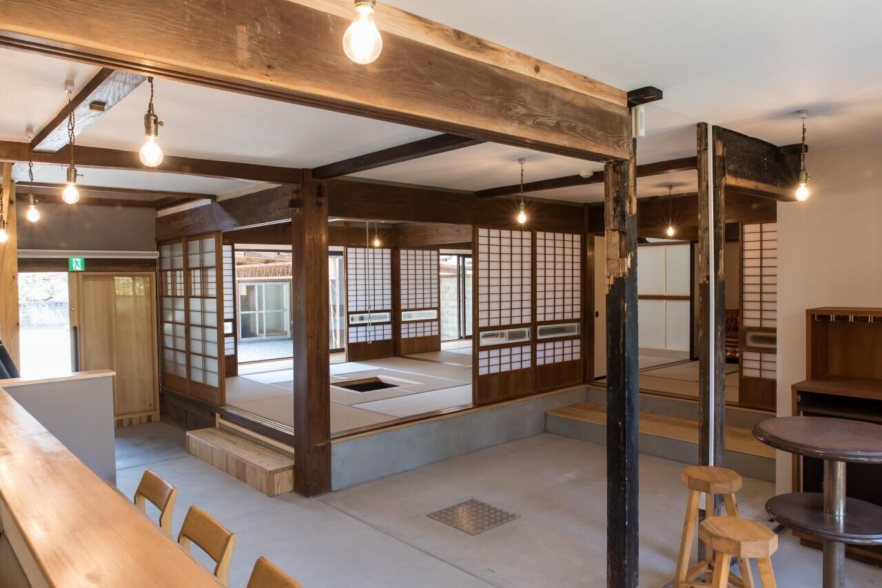 古民家改修(レストラン・ホテル)の建築事例写真