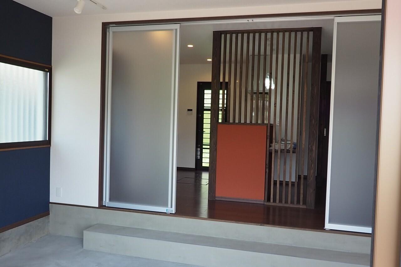 2世帯住宅リノベーションの建築事例写真