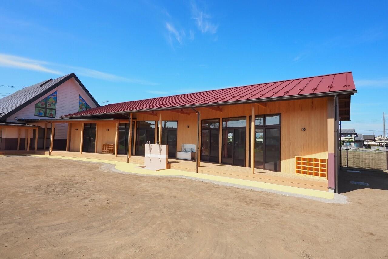 「ゆかり保育園」(埼玉県熊谷市)の建築事例写真