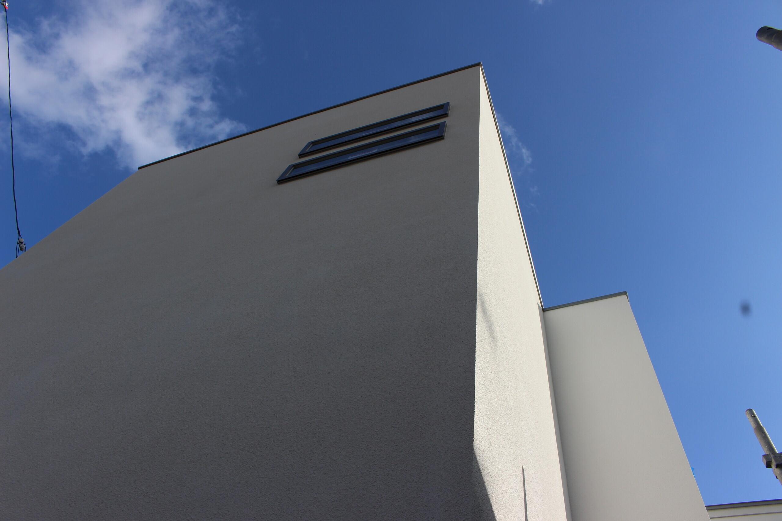 ガレージのある家の建築事例写真