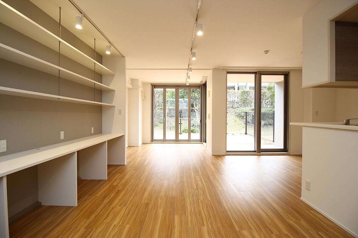 鷺沼マンションリフォームの建築事例写真