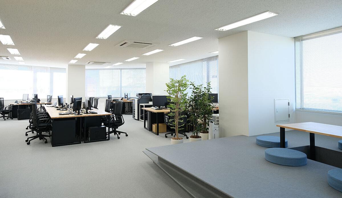 新横浜オフィスインテリアの建築事例写真