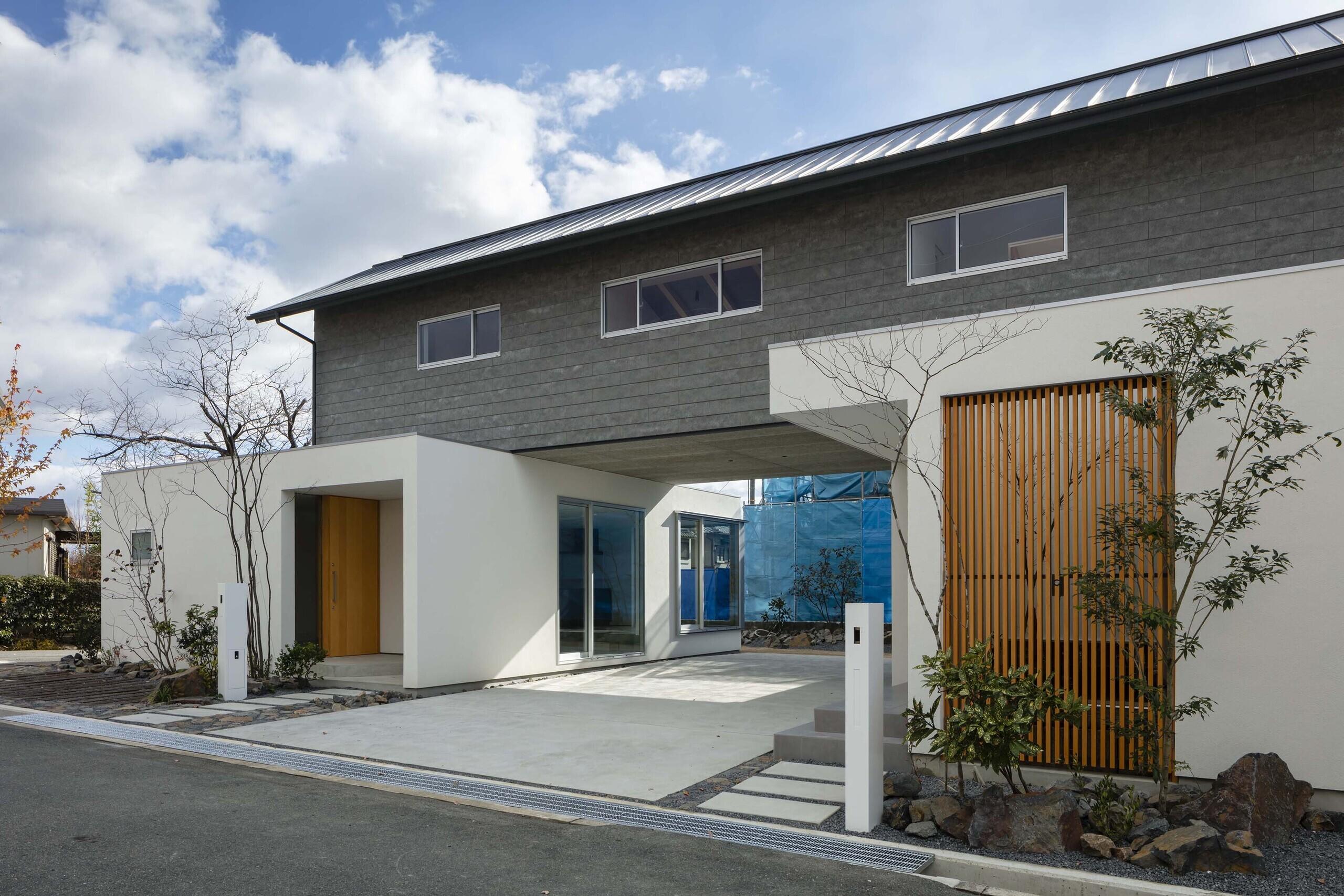 池田の家(二世帯住宅)の建築事例写真