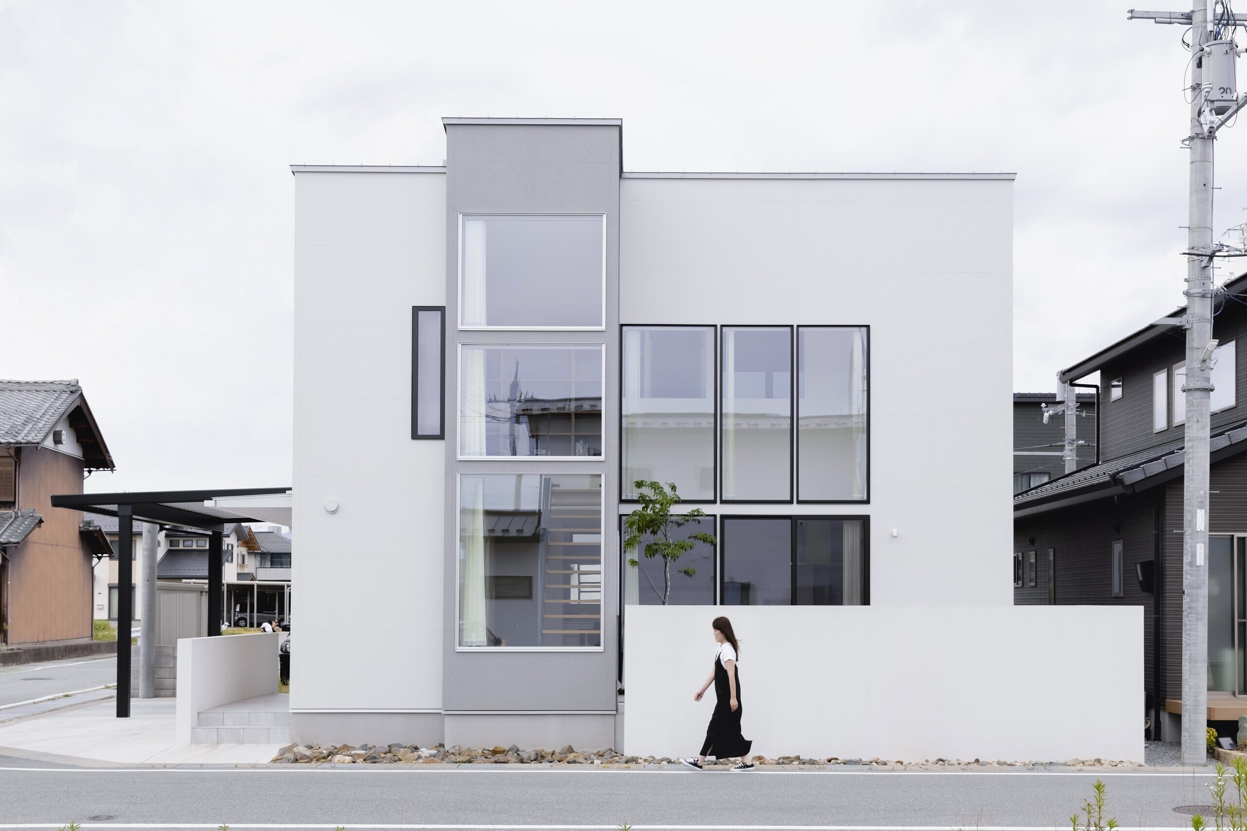長浜の家の建築事例写真