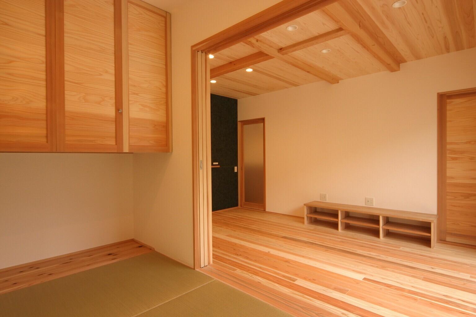 どこにいても、その空間ならではの楽しさ、快適さを満喫できる家の建築事例写真