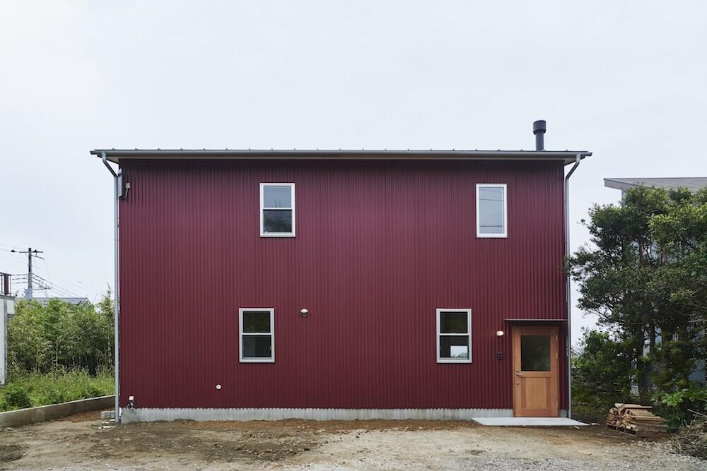 小さくて風通しの良い家の建築事例写真