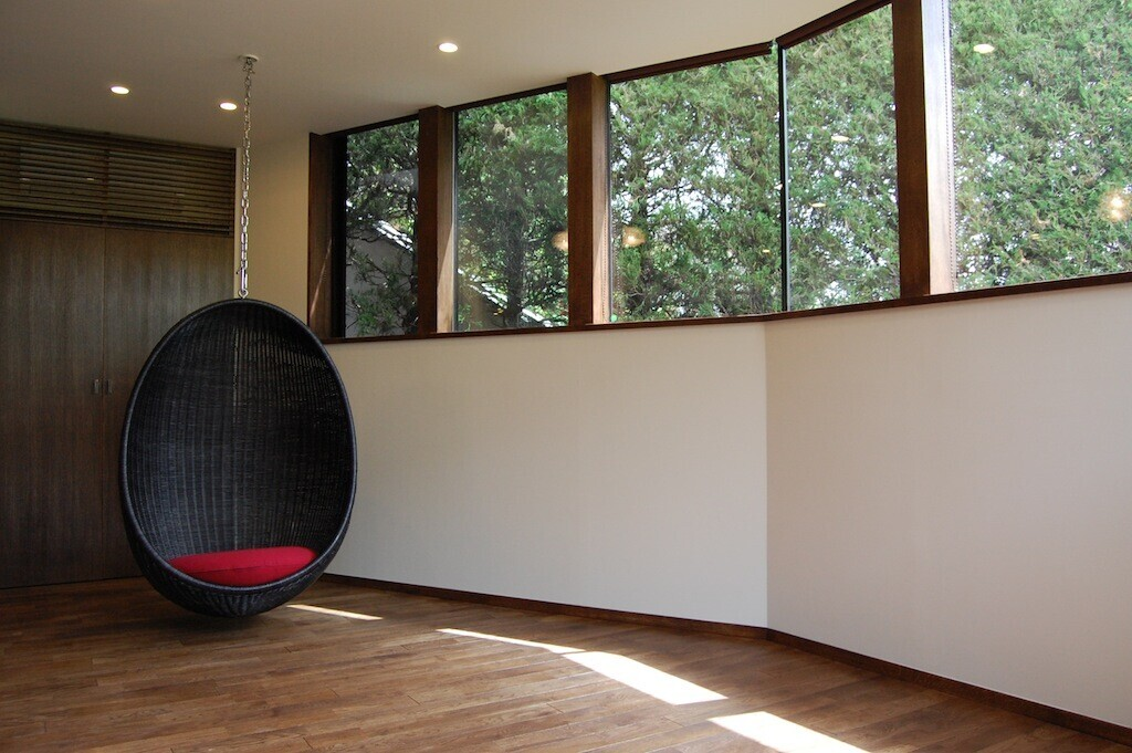 ハンギングチェアーの家の建築事例写真