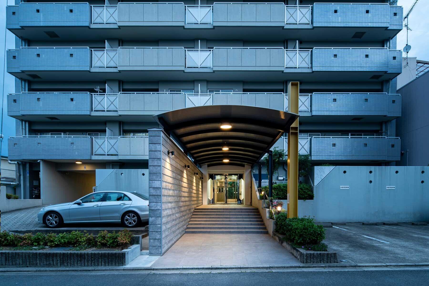 P Kyoto Saiin   分譲マンションの共用部改修の建築事例写真