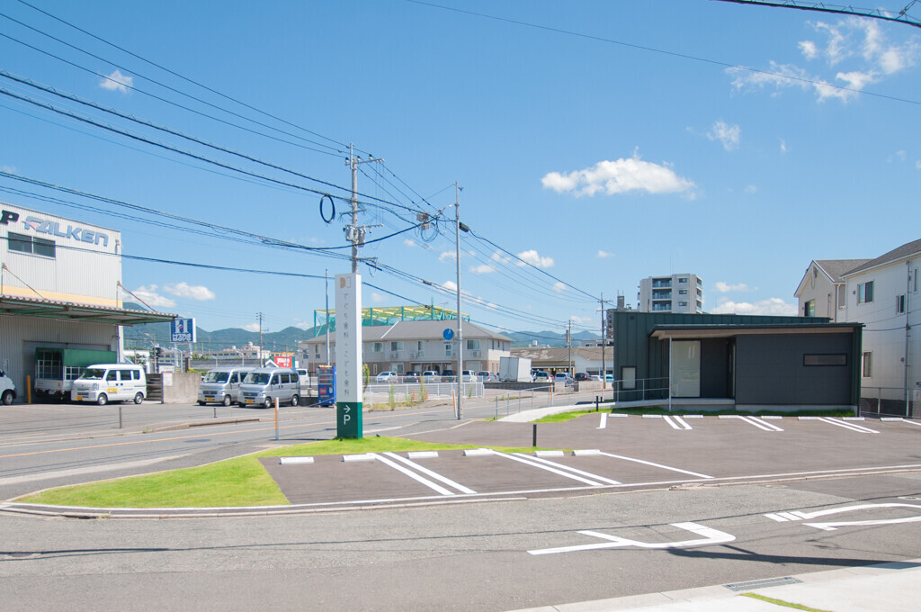 北九州の歯科医院の建築事例写真
