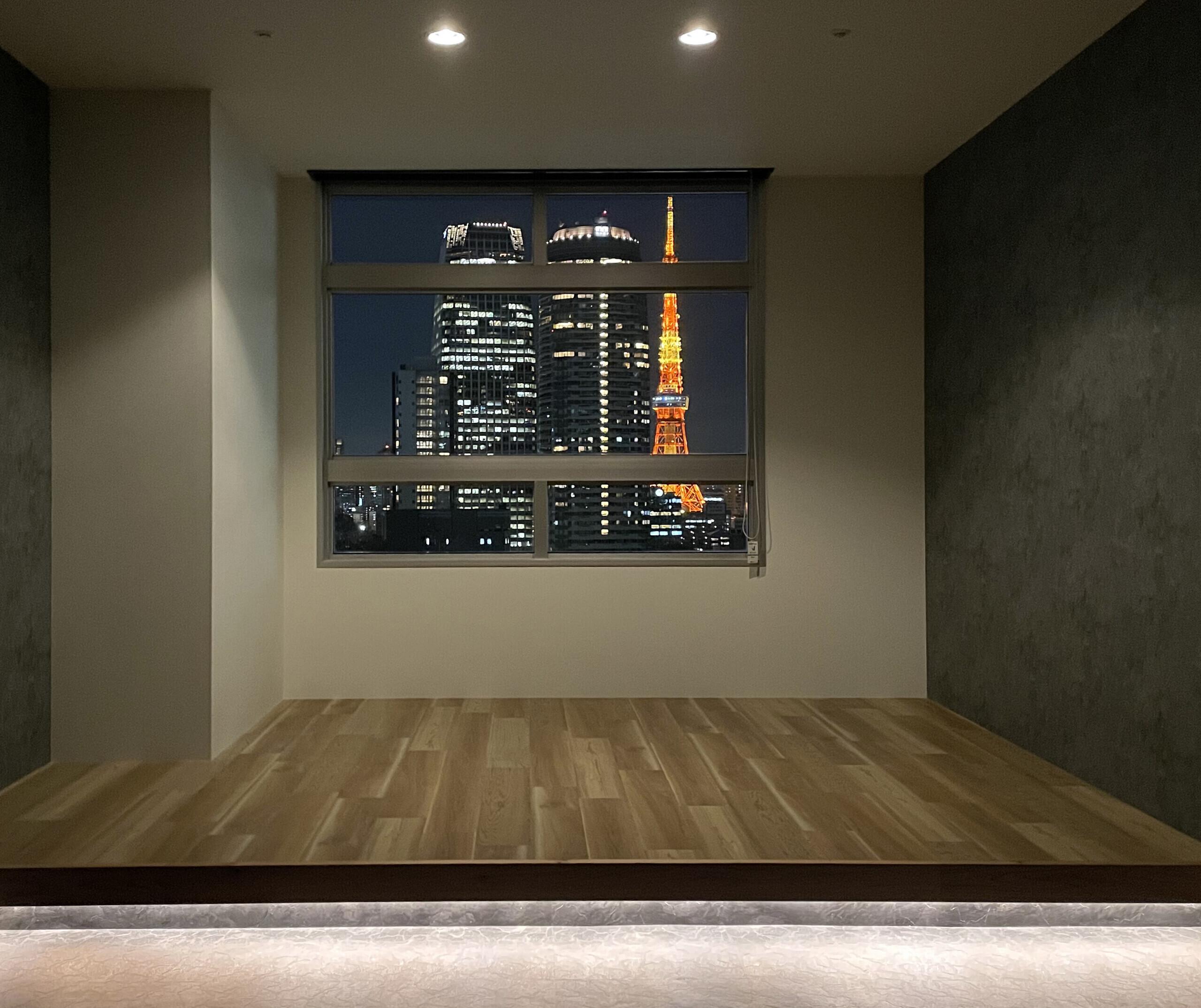 東京タワーのみえる会議室_改修_間接照明の建築事例写真
