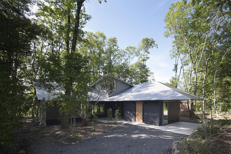 軽井沢追分の家の建築事例写真