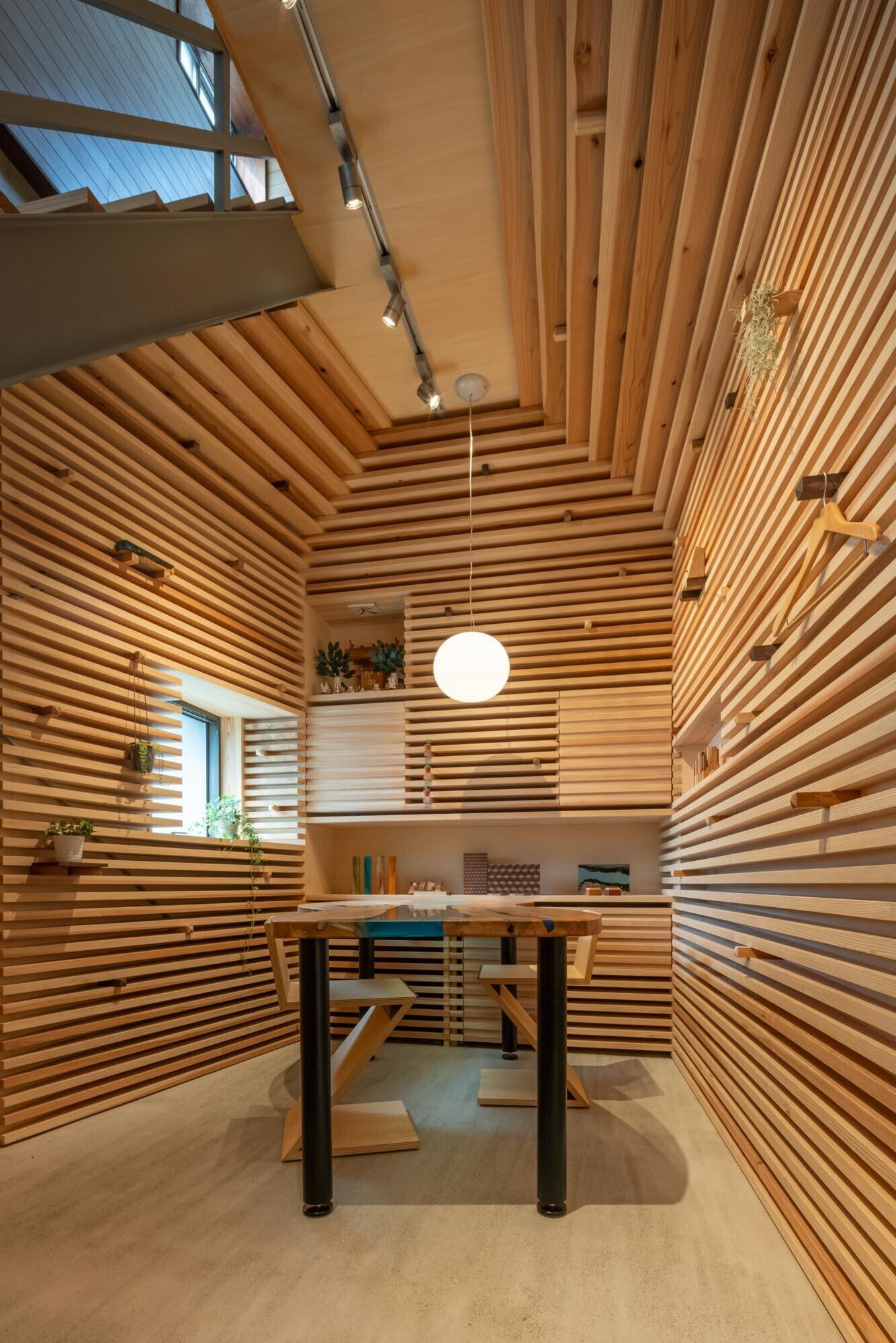 木らり(ショールームコンバージョン)の建築事例写真