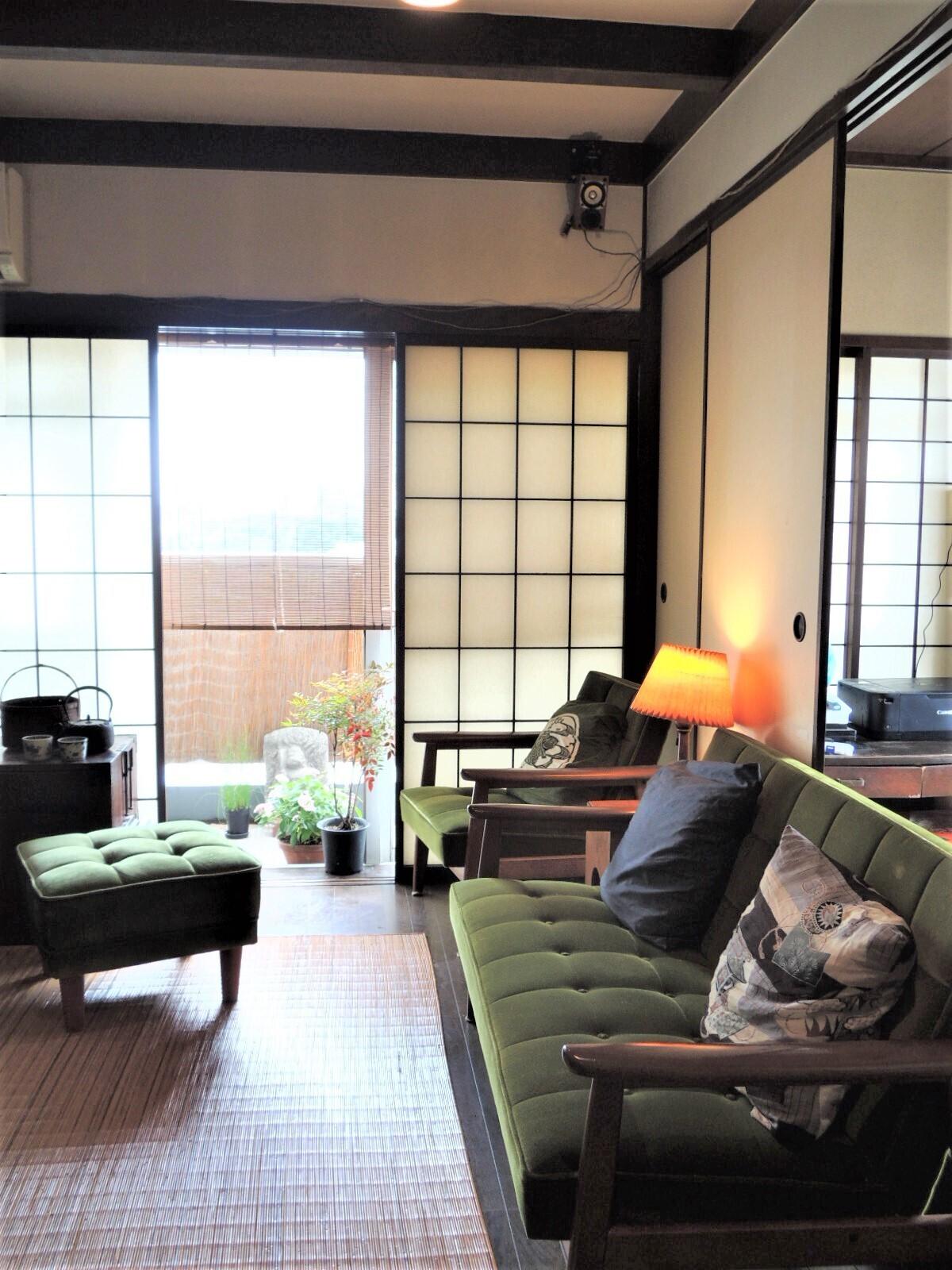 夫婦で暮らす、和風が好きなお客様のマンションリフォームの建築事例写真
