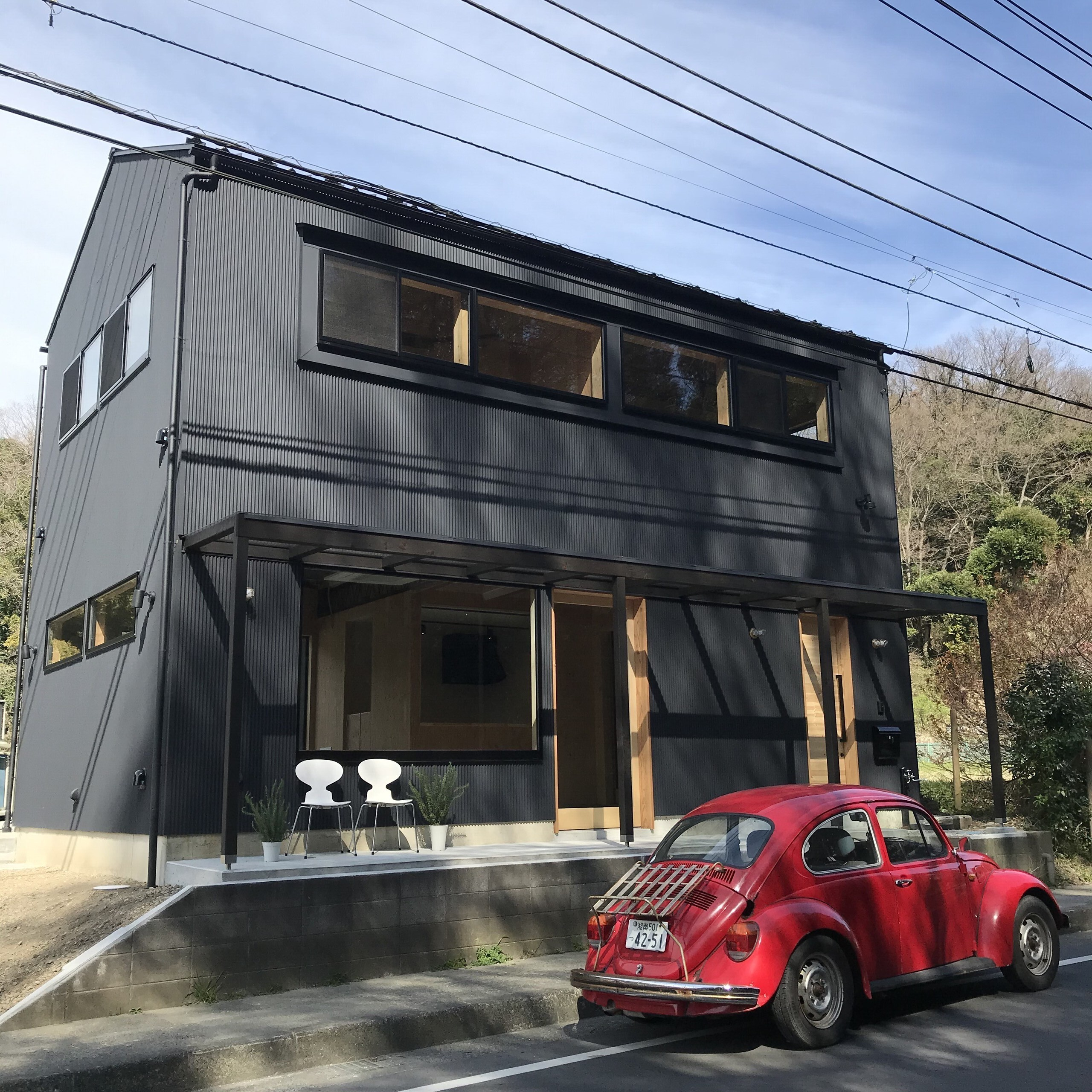 鎌倉ギャラリー&雑貨ショップ(店舗併用住宅)の建築事例写真