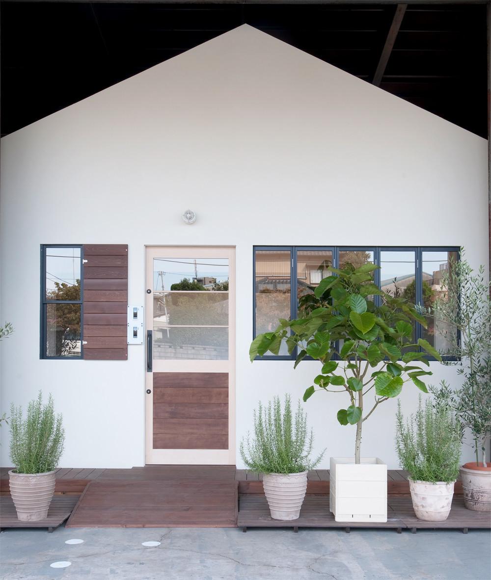 アンティークな小屋の建築事例写真