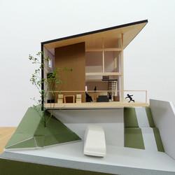 名古屋の家_眺望のスカイリビングハウス