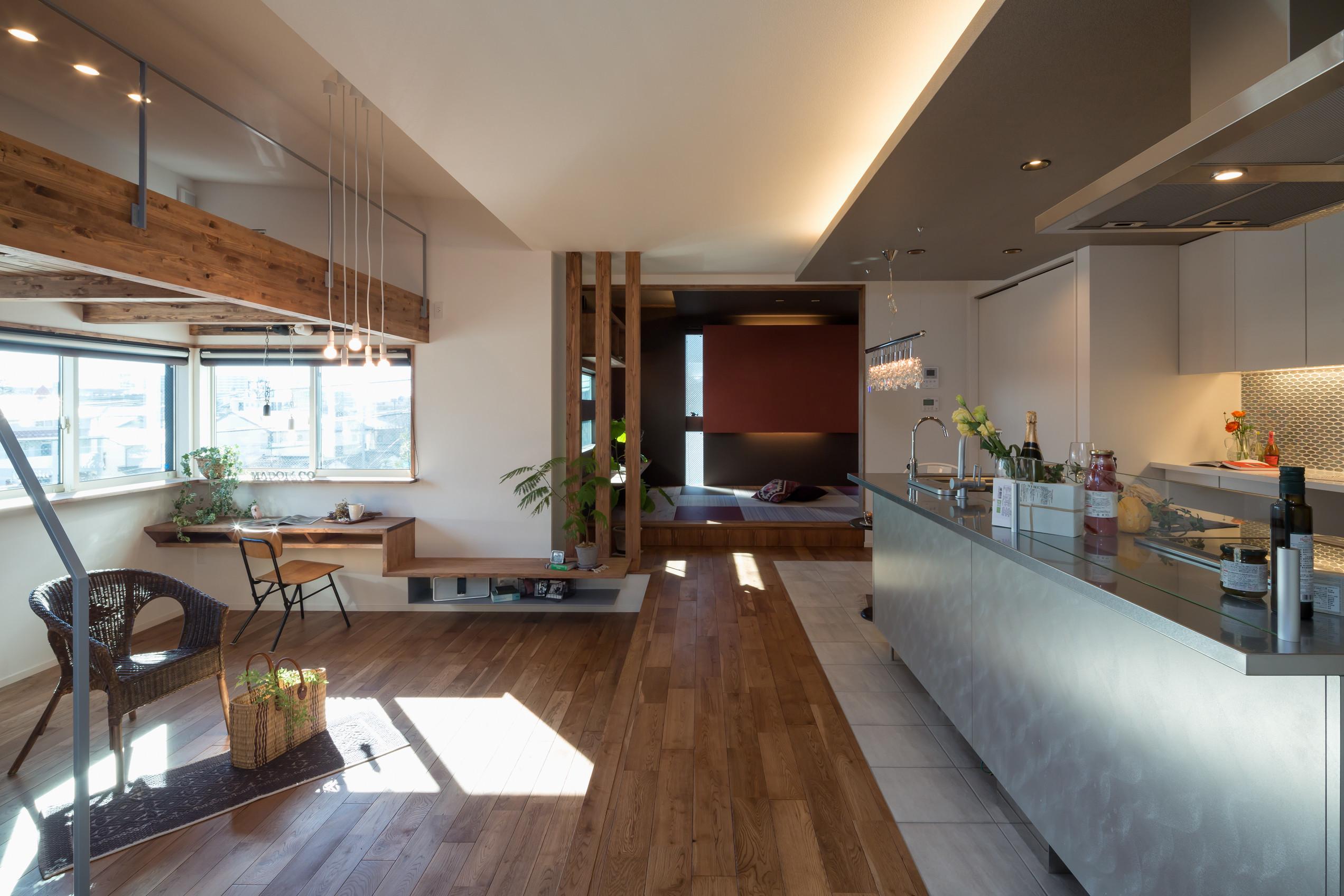 五輪の家の建築事例写真